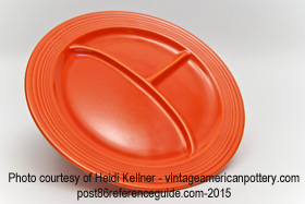 Fiesta® Compartment Plate