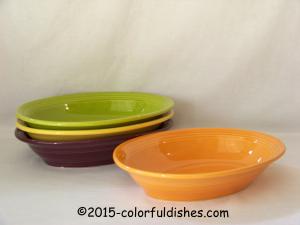 Fiesta® Deep Oval Bowls