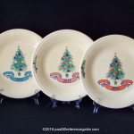 Fiesta® Dillards Christmas Yearly Dinner Plates