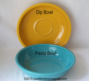 Fiesta® Dip Pasta Bowl Comparison