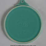 Fiesta® Flat Ornament Prototype Glazed Back
