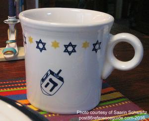 Fiesta® Hanukkah Mug