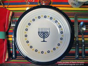 Fiesta® Hanukkah Plate