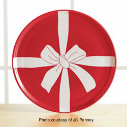 Fiesta® JC Penney Red Bow Photo jcp