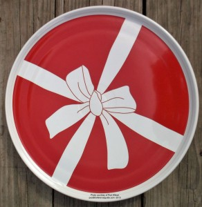 Fiesta® Red Bow Pizza Tray for JC Penney