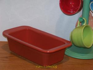 Fiesta® Loaf Pan in Paprika