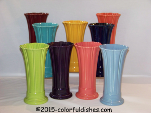 Fiesta® Medium Vases Group