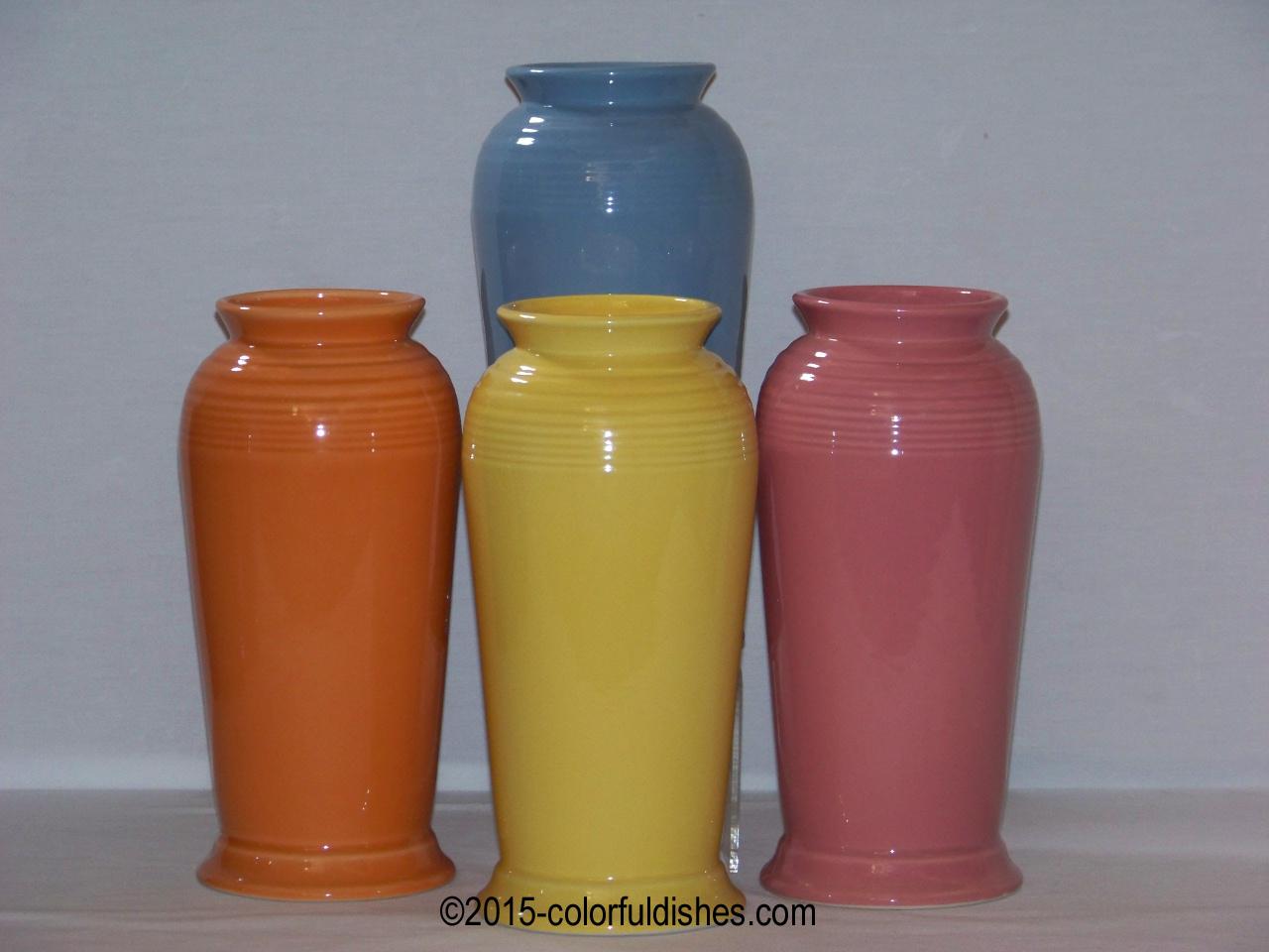 Fiesta vases candleholders fiesta monarch vase reviewsmspy