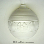 Fiesta® Original Ball Ornament Close Up