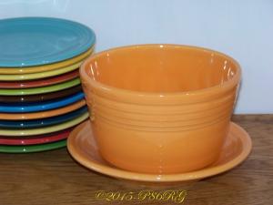Fiesta® Planter in Tangerine