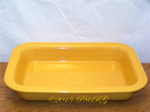Fiesta® Rectangle Baker in Marigold