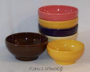 Fiesta® Rice Bowls - Chocolate & Marigold
