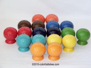 Fiesta® Salt & Pepper Shakers