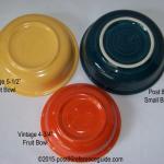 Fiesta® Small Bowl Comparison Bases