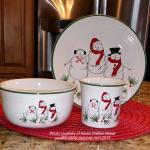 Fiesta® Snowman Family