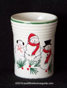 Fiesta® Snowman Family tumbler