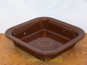 Fiesta® Square Baker in Chocolate