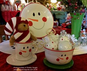 Fiesta® Tamarack Snowmen Face