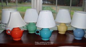 Fiesta® Teapot Lamps