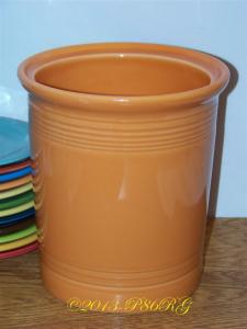 Fiesta® Large Tool Crock in Tangerine