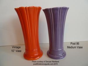 Fiesta® Vases Medium Comparison