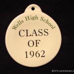 2005 Wells High School Fiesta® Ornament