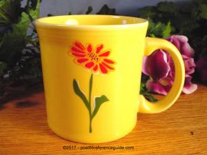 Fiesta® Floral Java Mug Sunflower