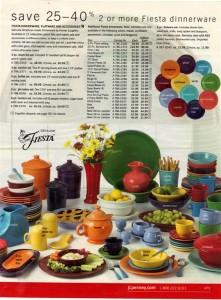 JC Penney Ad Page 479 - Fiesta® dinnerware
