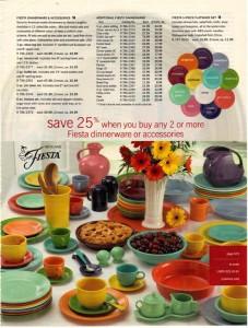 JC Penney Ad Page 673 - Fiesta® dinnerware