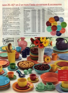 JC Penney Ad Fall 2005 Page 569 - Fiesta® Dinnerware