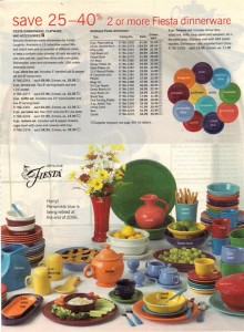 JCPenney Ad Fall 2006 Page 502  - Fiesta® dinnerware