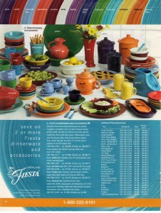 JC Penney Ad Holiday 2006 Page 50 - Fiesta® dinnerware