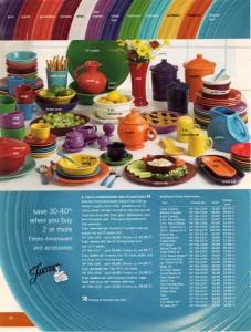 JC Penney Late Winter 2007 Page 50 - Fiesta® Dinnerware