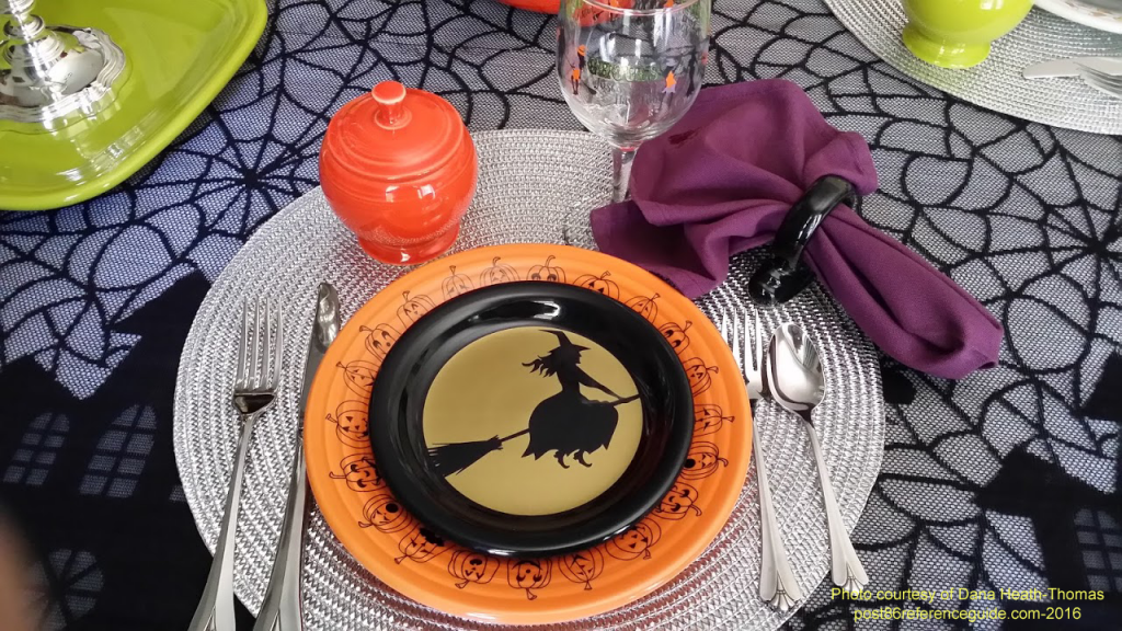 Fiesta® Carsons Jack O Lanterns tablescape