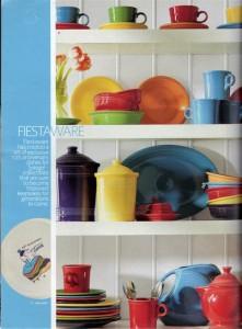 Spiegel Spring Catalog 2006 page 46 - Fiesta® dinnerware