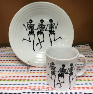 Fiesta® Trio of Skeletons