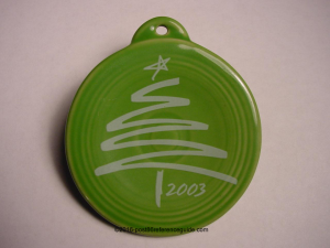Fiesta® 2003 Outlet Ornament Not Produced