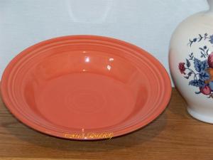 Fiesta® Rimmed Soup in Persimmon