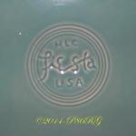 Fiesta® Round Serving Tray Back Stamp