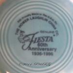 Fiesta® 60th Anniversary Back Stamp