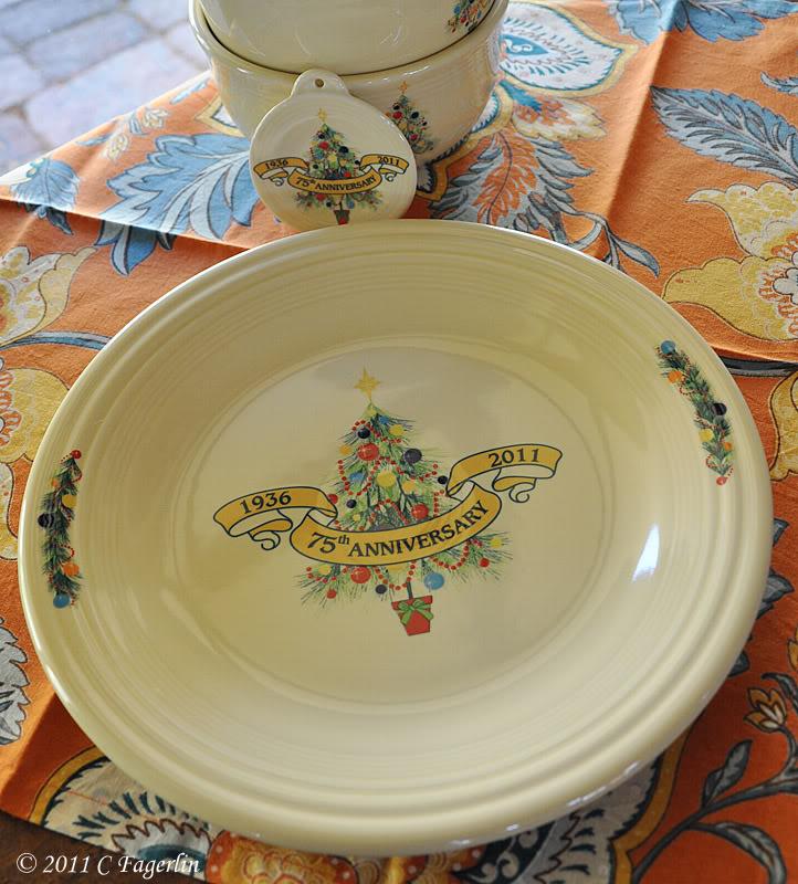 Fiesta® 75th Anniversary Plate