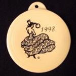1998 Yellow Dancing Lady Fiesta® Ornament