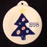 1997 Blue Tree Fiesta® Ornament