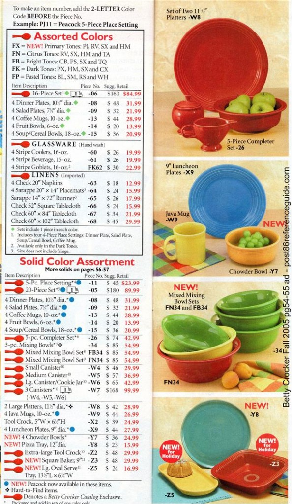 Betty Crocker Fall 2005 - Mixing Bowls Square Baker 5 pc completer set rg (Large)