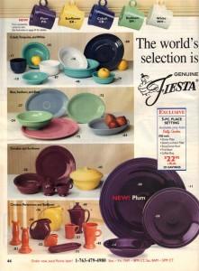 Betty Crocker Expires 8-31-2002 - Fiesta® Plum Place Setting