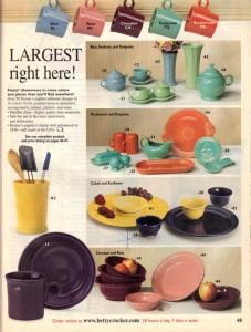 Betty Crocker Expires 8-31-2002 - Fiesta® Dinnerware