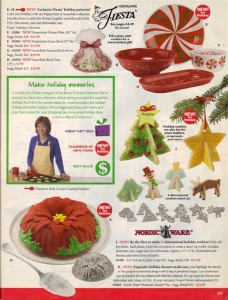 Fiesta® Ad - Betty Crocker® Holiday Catalog 2005 Page 3H