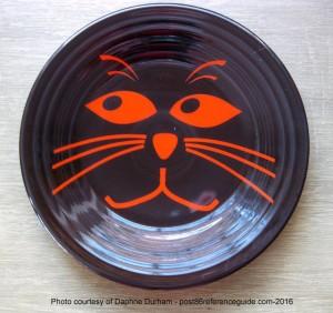 Fiesta® Orange Cat Face