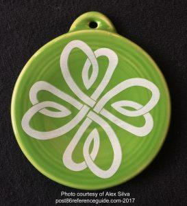 Celtic Clover Fiesta® Ornament