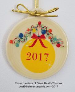 Christmas Tree 2017 Fiesta® Ornament